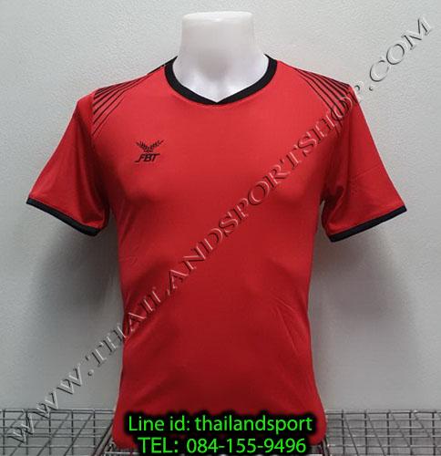 เสื้อกีฬา เอฟ บี ที fbt รุ่น 12-272 (สีแดง)