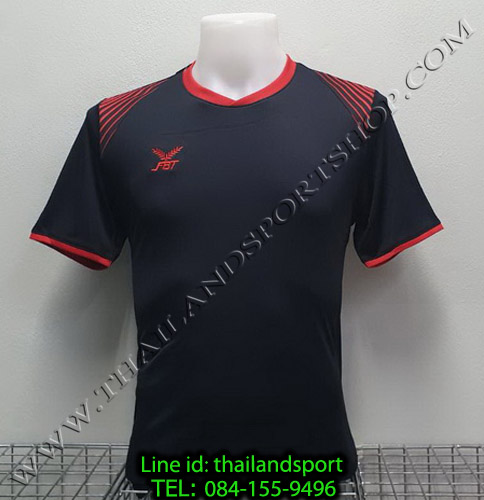 เสื้อกีฬา เอฟ บี ที  fbt รุ่น 12-272 (สีดำ)