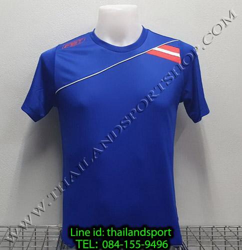 เสื้อกีฬา เอฟ บี ที fbt รุ่น 12-264 (สีน้ำเงิน)