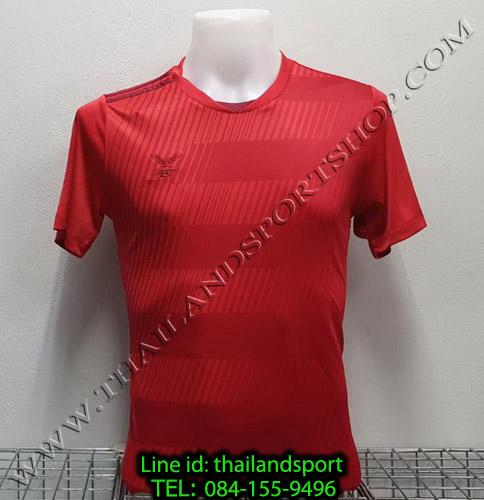 เสื้อกีฬา เอฟ บี ที  fbt รุ่น 12-267 (สีแดง) ผ้าพิมพ์ลาย