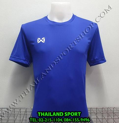 เสื้อกีฬา วอริค warrix รหัส wa-fba571  (สีน้ำเงิน bb)