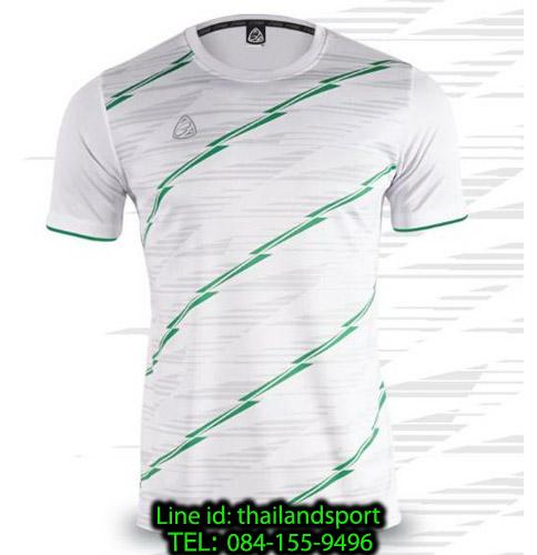 เสื้อ อีโก้ ego sport รหัส eg-5130 (สีขาว) พิมพ์ลาย