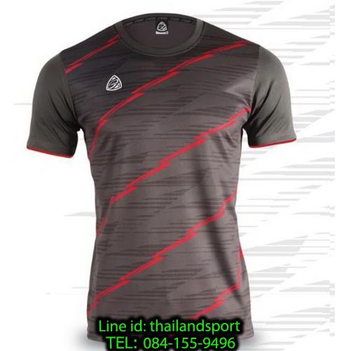 เสื้อ อีโก้ ego sport รหัส eg-5130 (สีเทาเปียกปูน) พิมพ์ลาย