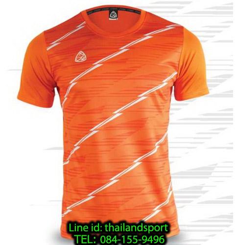 เสื้อ อีโก้ ego sport รหัส eg-5130 (สีส้มแสด) พิมพ์ลาย