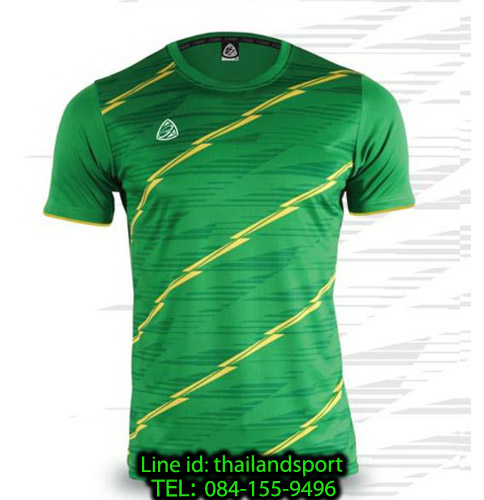 เสื้อ อีโก้ ego sport รหัส eg-5130 (สีเขียวไมโล) พิมพ์ลาย