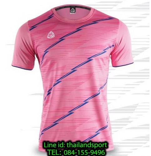 เสื้อ อีโก้ ego sport รหัส eg-5130 (สีชมพู) พิมพ์ลาย