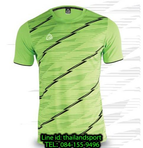 เสื้อ อีโก้ ego sport รหัส eg-5130 (สีเขียวสะท้อน) พิมพ์ลาย