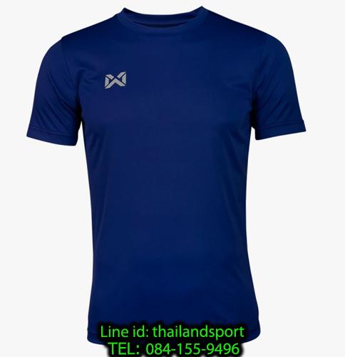 เสื้อกีฬา วอริค warrix รหัส wa-fba571 (สีกรมท่า)
