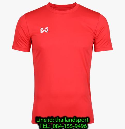 เสื้อกีฬา วอริค warrix รหัส wa-fba571 (สีแดง)