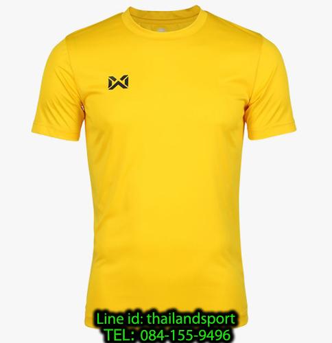 เสื้อกีฬา วอริค warrix รหัส wa-fba571 (สีเหลือง)