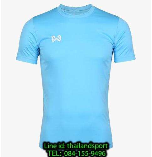 เสื้อกีฬา วอริค warrix รหัส wa-fba571 (สีฟ้า)