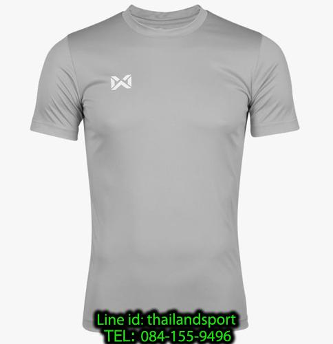 เสื้อกีฬา วอริค warrix รหัส wa-fba571 (สีเทา)