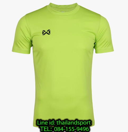 เสื้อกีฬา วอริค warrix รหัส wa-fba571 (สีเขียวสะท้อนแสง g2)