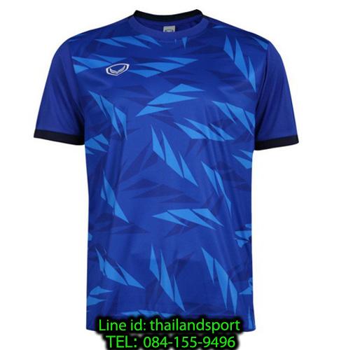 เสื้อกีฬา แกรนด์ สปอร์ต grand sport รุ่น 011-549 (สีน้ำเงิน)