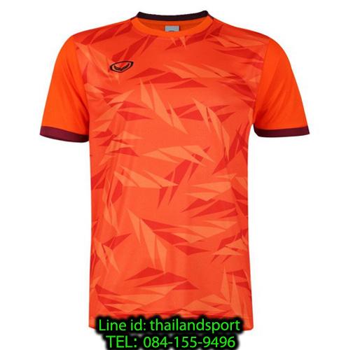 เสื้อกีฬา แกรนด์ สปอร์ต grand sport รุ่น 011-549 (สีส้ม)