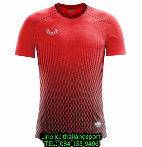 เสื้อกีฬา แกรนด์ สปอร์ต grand sport รุ่น 011-482 (สีแดง)