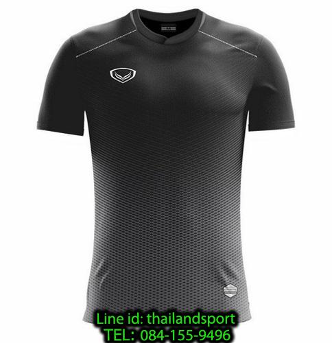 เสื้อกีฬา แกรนด์ สปอร์ต grand sport รุ่น 011-482 (สีดำ)