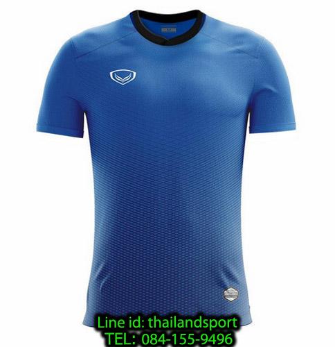 เสื้อกีฬา แกรนด์ สปอร์ต grand sport รุ่น 011-482 (สีน้ำเงิน)
