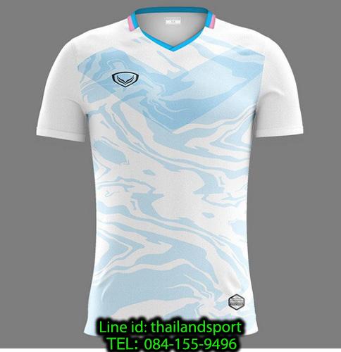 เสื้อกีฬา แกรนด์ สปอร์ต grand sport รุ่น 011-483 (สีขาว)