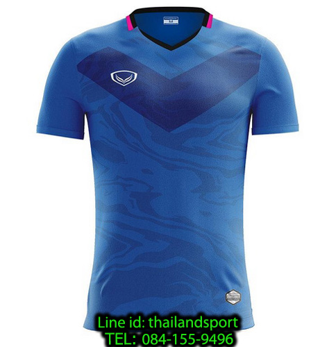 เสื้อกีฬา แกรนด์ สปอร์ต grand sport รุ่น 011-483 (สีน้ำเงิน)