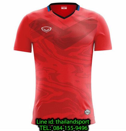 เสื้อกีฬา แกรนด์ สปอร์ต grand sport รุ่น 011-483 (สีแดง)