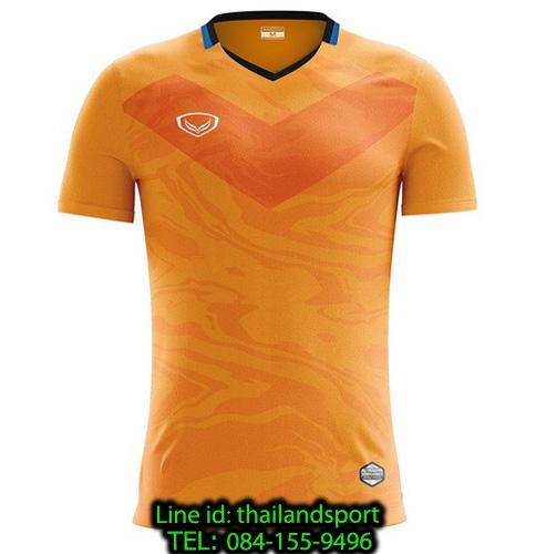 เสื้อกีฬา แกรนด์ สปอร์ต grand sport รุ่น 011-483 (สีส้ม)