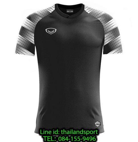 เสื้อกีฬา แกรนด์ สปอร์ต grand sport รุ่น 011-484 (สีดำ)