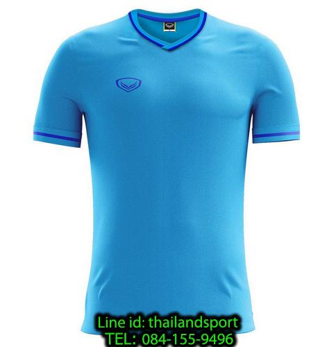 เสื้อกีฬา แกรนด์ สปอร์ต grand sport รุ่น 011-547 (สีฟ้า)