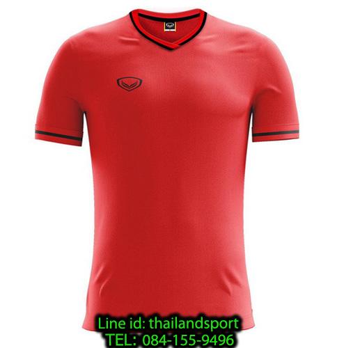 เสื้อกีฬา แกรนด์ สปอร์ต grand sport รุ่น 011-547 (สีแดง)