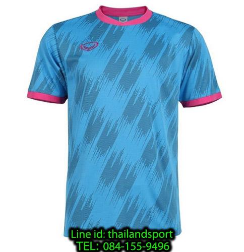 เสื้อกีฬา แกรนด์ สปอร์ต grand sport รุ่น 011-548 (สีฟ้า)