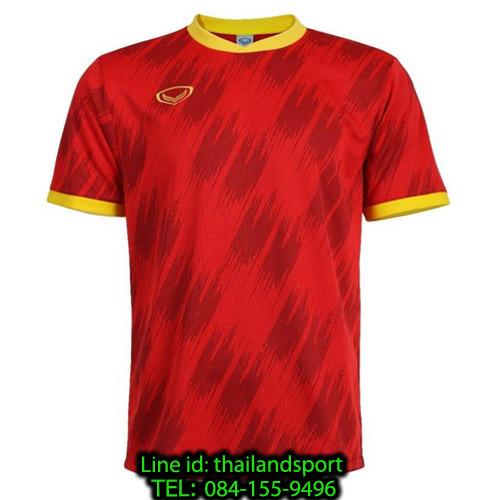 เสื้อกีฬา แกรนด์ สปอร์ต grand sport รุ่น 011-548 (สีแดง)