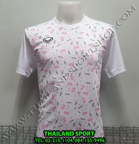 เสื้อกีฬา แกรนด์ สปอร์ต grand sport รุ่น 011-477 (สีขาว)