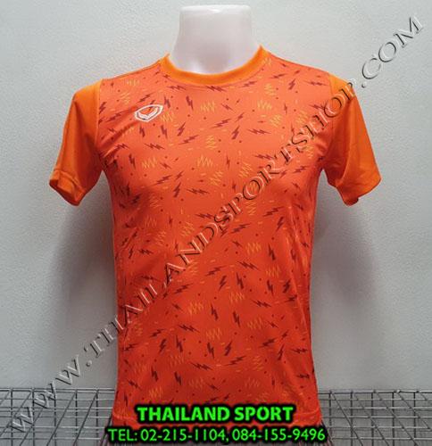 เสื้อกีฬา แกรนด์ สปอร์ต grand sport รุ่น 011-477 (สีส้ม)