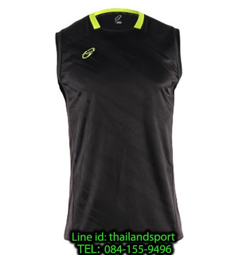 เสื้อแขนกุด อีโก้ สปอร์ต ego sport รุ่น eg-5125 (สีดำ) พิมพ์ลาย