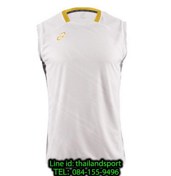 เสื้อแขนกุด อีโก้ สปอร์ต ego sport รุ่น eg-5125 (สีขาว) พิมพ์ลาย