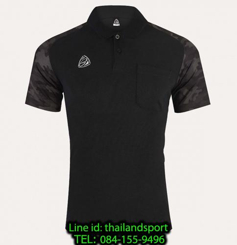 เสื้อ polo sport อีโก้ รุ่น eg 6157 (สีดำ) man