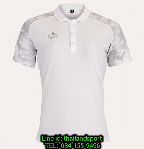 เสื้อโปโล polo shirt อีโก้ ego sport รุ่น eg 6158 (สีขาว) women