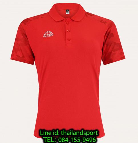 เสื้อโปโล polo shirt อีโก้ ego sport รุ่น eg 6158 (สีแดง) women