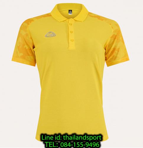 เสื้อโปโล polo shirt อีโก้ ego sport รุ่น eg 6158 (สีเหลืองจันทร์) women