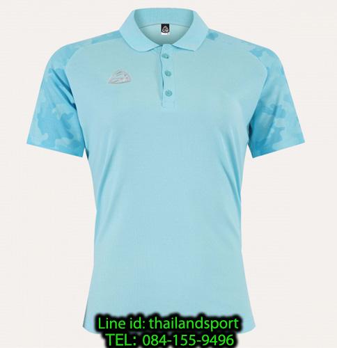 เสื้อโปโล polo shirt  อีโก้ ego sport รุ่น eg 6158 (สีฟ้าอ่อน) women
