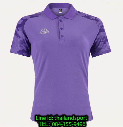 เสื้อโปโล polo shirt  อีโก้ ego sport รุ่น eg 6158 (สีม่วงเข้ม) women