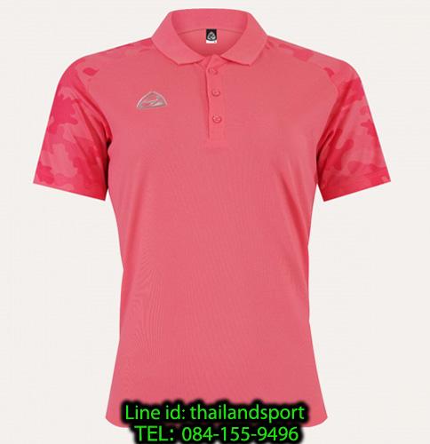 เสื้อโปโล polo shirt  อีโก้ ego sport รุ่น eg 6158 (สีชมพูเข้ม) women