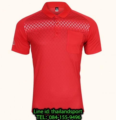 เสื้อโปโลกีฬา polo sport  อีโก้ รุ่น eg 6159 (สีแดง) man