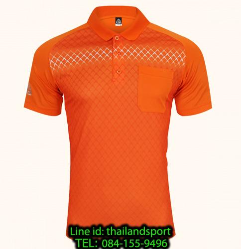 เสื้อโปโลกีฬา polo sport   อีโก้ รุ่น eg 6159 (สีส้มแสด) man
