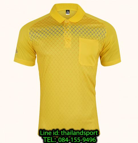 เสื้อโปโลกีฬา polo sport  อีโก้ รุ่น eg 6159 (สีเหลืองจันทร์) man