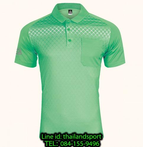 เสื้อโปโลกีฬา polo sport  อีโก้ รุ่น eg 6159 (สีเขียวพาร์คกรีน) man