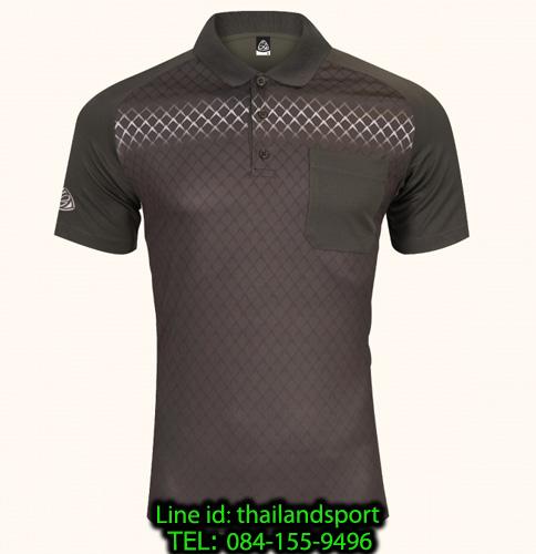เสื้อโปโลกีฬา polo sport   อีโก้ รุ่น eg 6159 (สีเทาเปียกปูน) man