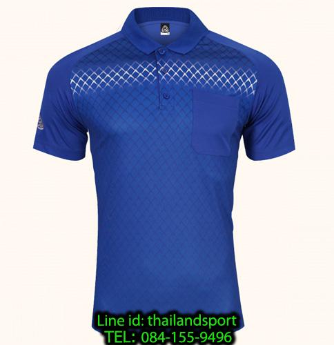 เสื้อโปโลกีฬา polo sport  อีโก้ รุ่น eg 6159 (สีน้ำเงิน) man