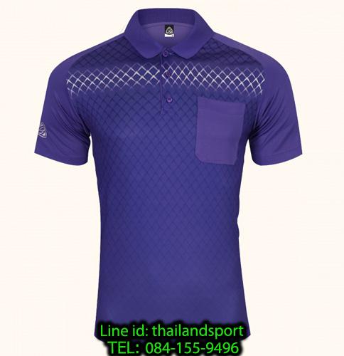 เสื้อโปโลกีฬา polo sport   อีโก้ รุ่น eg 6159 (สีม่วงเข้ม) man