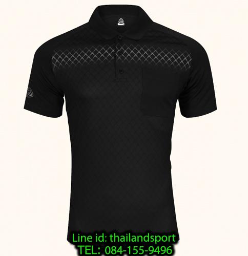 เสื้อโปโลกีฬา polo sport   อีโก้ รุ่น eg 6159 (สีดำ) man